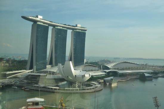 Mandarin Oriental, Singapore: вид из окна 1