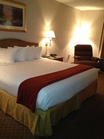 Quality Inn & Suites : Comfortable bed