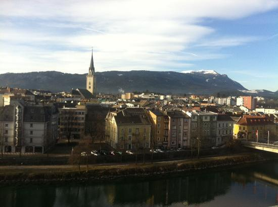 Holiday Inn Villach: view form the room