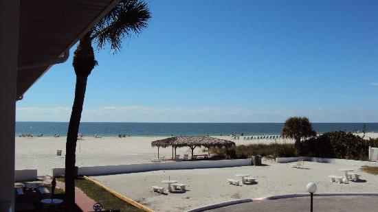 Gulf Beach Resort Motel: View from our room