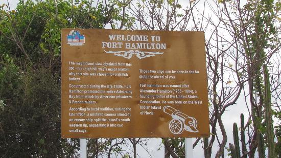 Hamilton Fort : The Fort Hamilton Sign