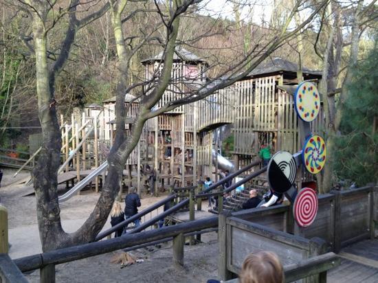 Folkestone, UK: play area