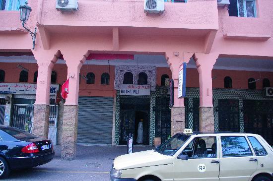 Hotel Ali: Hotel front