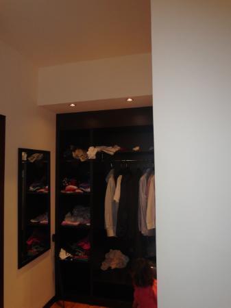 Veio Park Hotel : closet