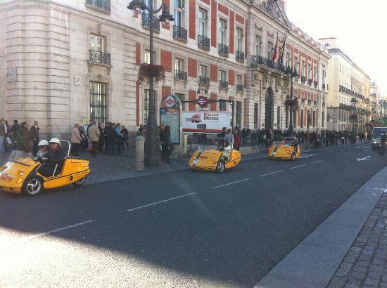 GoCar Tours Madrid: Paseando por Sol.