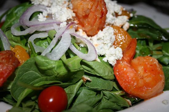 Dantanna's: Spinach Salad with Shrimps