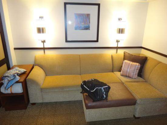 Sectional Sofabed - Picture of Hyatt Place Seattle/Downtown ...