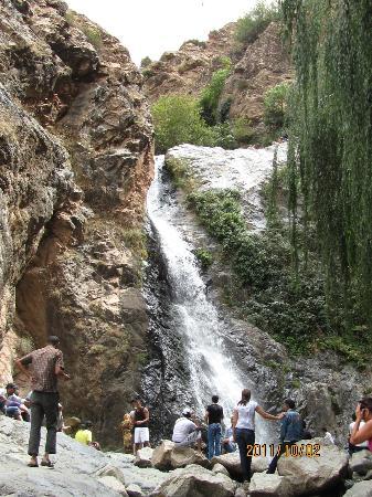 Riad Charme d'Orient: cascade de l'Ourika