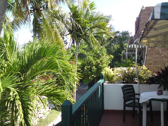 BEST WESTERN Bay View Suites: Unsere Terrasse