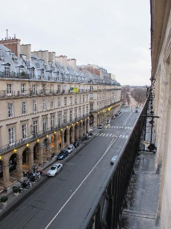 Hotel Lotti Paris: view from room 309