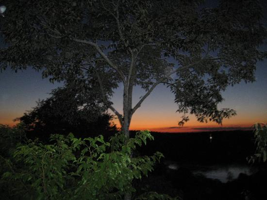 Don Puerto Bemberg Lodge: Sunset from the canopy