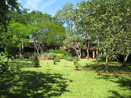Puerto Bemberg Lodge: Gardens to wander thro'