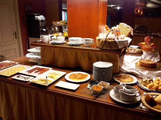 Talaso Atlantico: Desayuno buffet