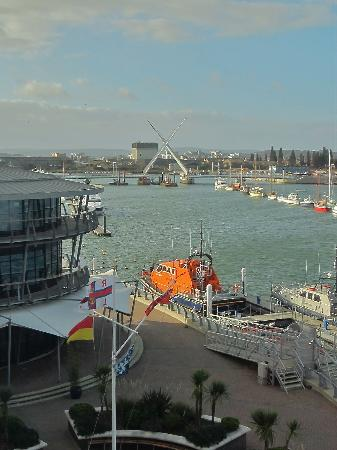 RNLI College: View from Room 301 at RNLI Training College Poole