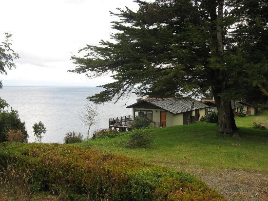 Hotel & Cabanas Centinela: Vista a cabaña familar