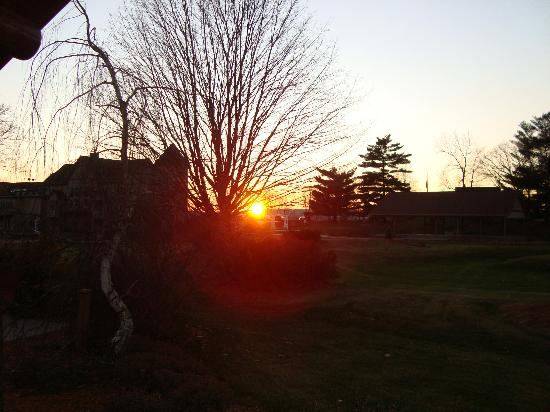 Goldmoor Inn: A Sunset Viewed from our Cabin
