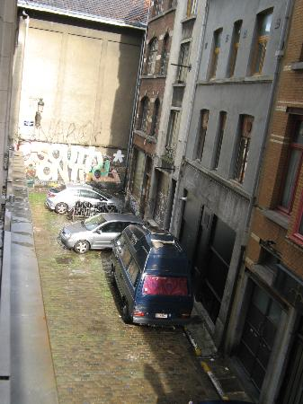 Aris Grand Place Hotel: View of alley from room