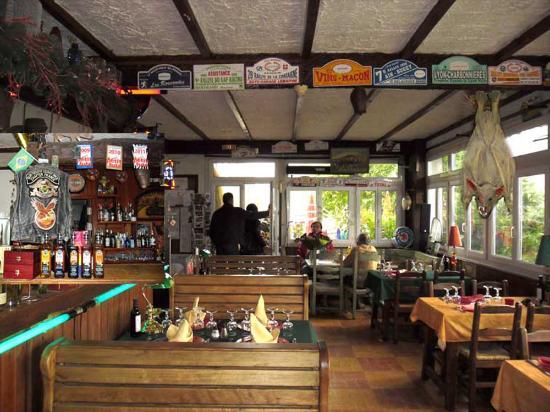 Hotel Les Chamois : Restaurant des chamois