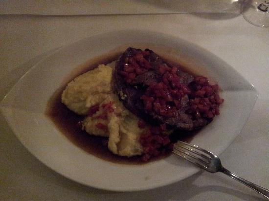 Culinaria: Lamb with polenta
