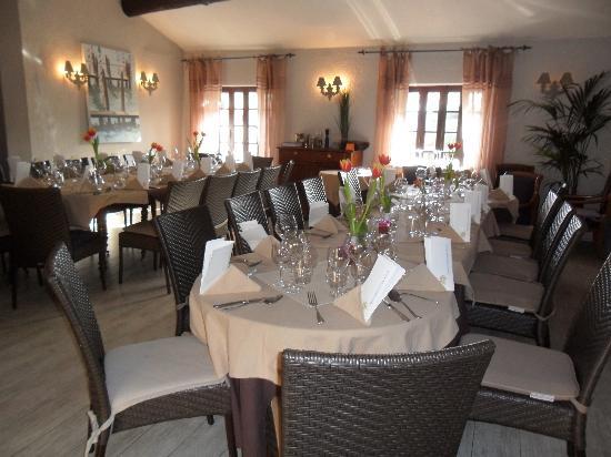 La Bretonniere : grande table