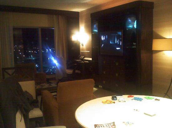Suite Living Room Picture Of Motorcity Casino Hotel