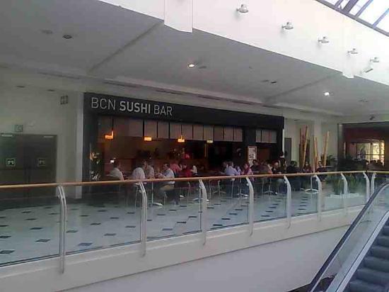 BCN Sushi Bar: Vista desde la galería