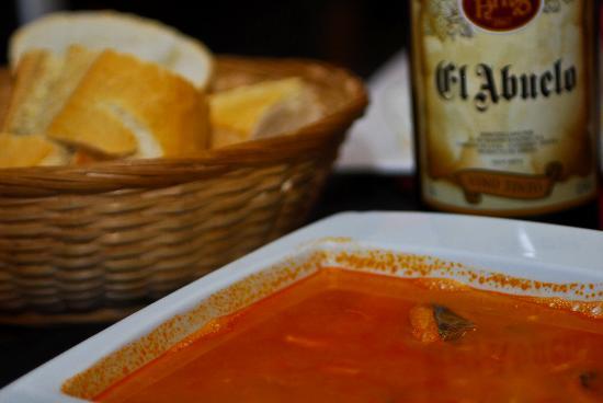 A Bordo: Sopa de pescado