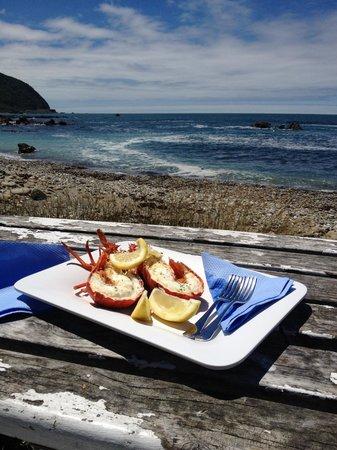 Nin's Bin: Crayfish with a view!