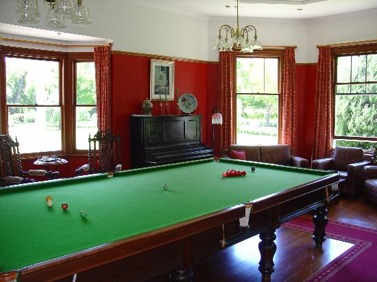 The Marlborough Lodge: La salle de Billard
