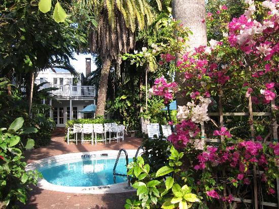 duval gardens key west fl. Key West Inn Duval Gardens Tropical Bed And Breakfast Fl