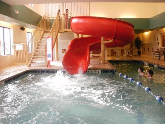 Holiday Inn Express Hotel & Suites Loveland: LARGE water slide!