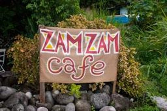 Zam Zam Cafe: Zam Zam  - right next to Anchorage outside of Roseau