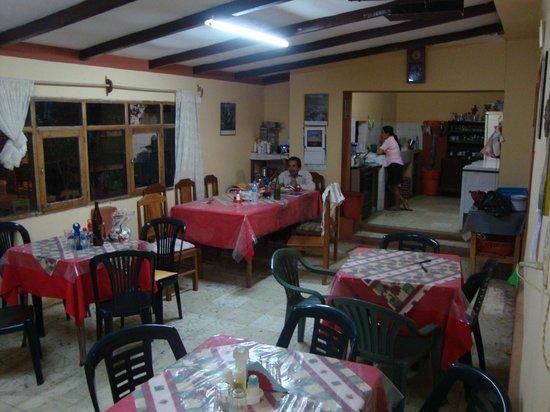 Comarapa, Bolivia: Dining Area