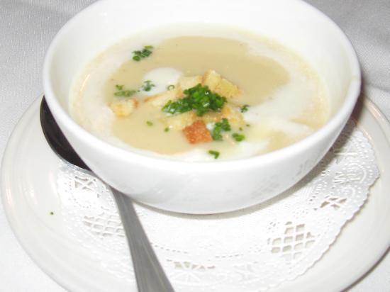 Holly Hill Inn : Potato leek soup