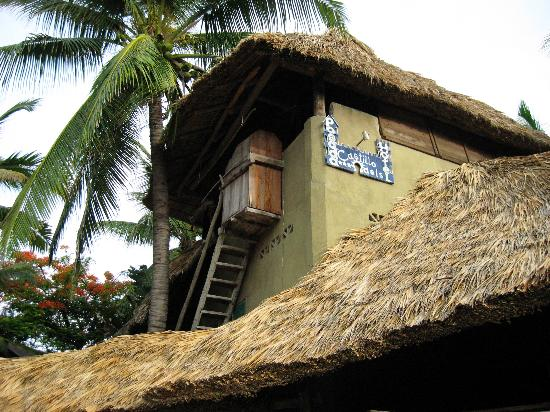Posada Castillo Oasis : Turmzimmer