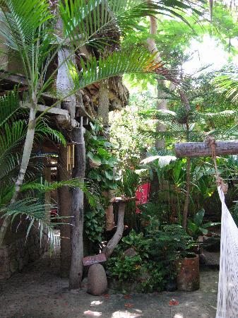Posada Castillo Oasis : Innenhof