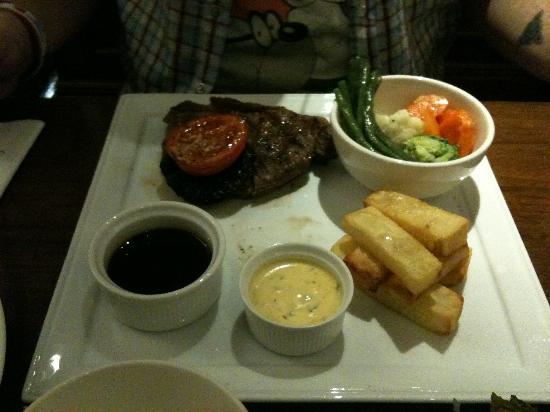 Copthorne Tara Hotel London Kensington: Steak