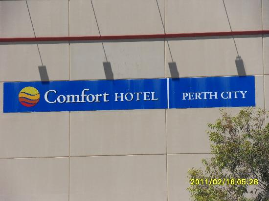 Comfort Hotel Perth City: The hotel