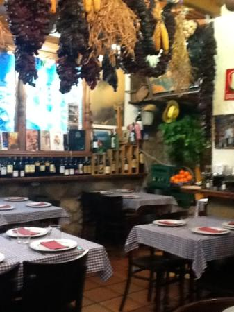 Casa Parrondo : inside the restaurant