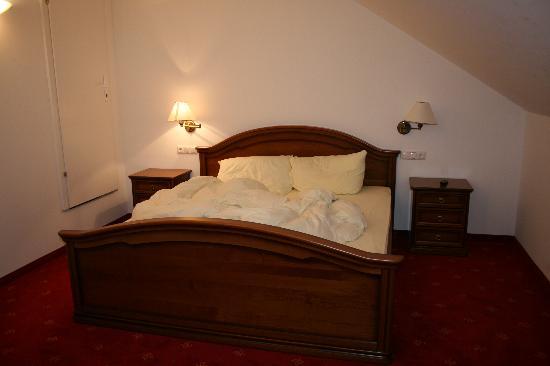 Hotel Moselebauer: letto matrimoniale