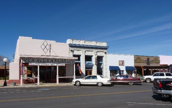 Rex Allen Arizona Cowboy Museum: The Rex Allen Museum, Willcox, AZ