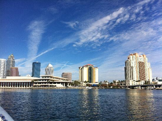 Tampa Water Taxi Company: View of convention centre