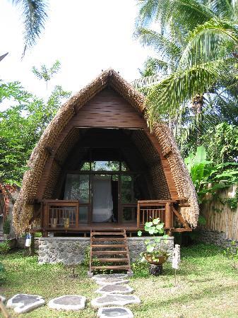 Cili Emas Oceanside Resort: einer der beiden Lumbungs