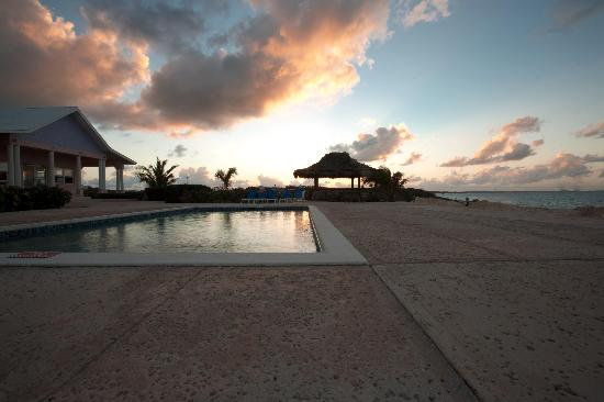 وينتر هافين: The pool area