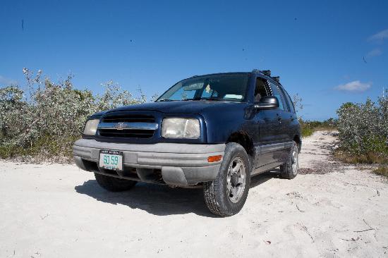 وينتر هافين: Our rental vehicle