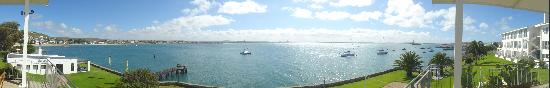 Protea Hotel by Marriott Saldanha Bay: Panoramic view from the Lounge Balcony