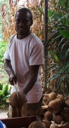 Coconut Oil & Organic Skin Care Factory Tour: Donald is the boss of the coconut oil factory