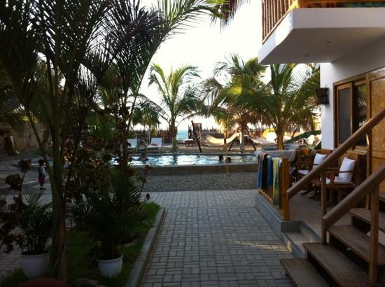 Casa Mediterranea: patio