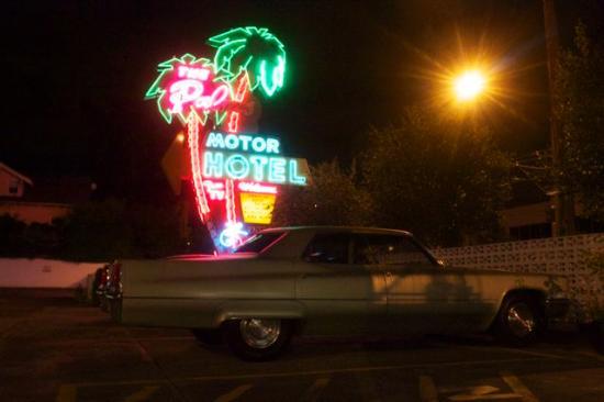 Palms Motel: idéal pour y garer un cadillac