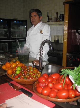 Organic Farm Tour at Huerta Los Tamarindos: Chef Enrique
